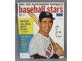 'Baseball Stars' magazine with Ted Williams cover, coupon