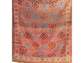 1920s Turkoman Rug, with centre panel of polygons and