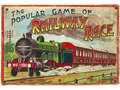 A 'Popular Game of Railway Race', presumably by Glevum, ...